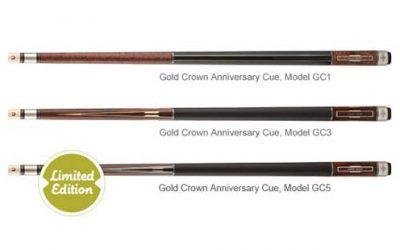 50th Anniversary Gold Crown Cue Collection